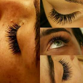 Eyelash extensions ... HD Brows