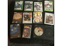 Assortment of games
