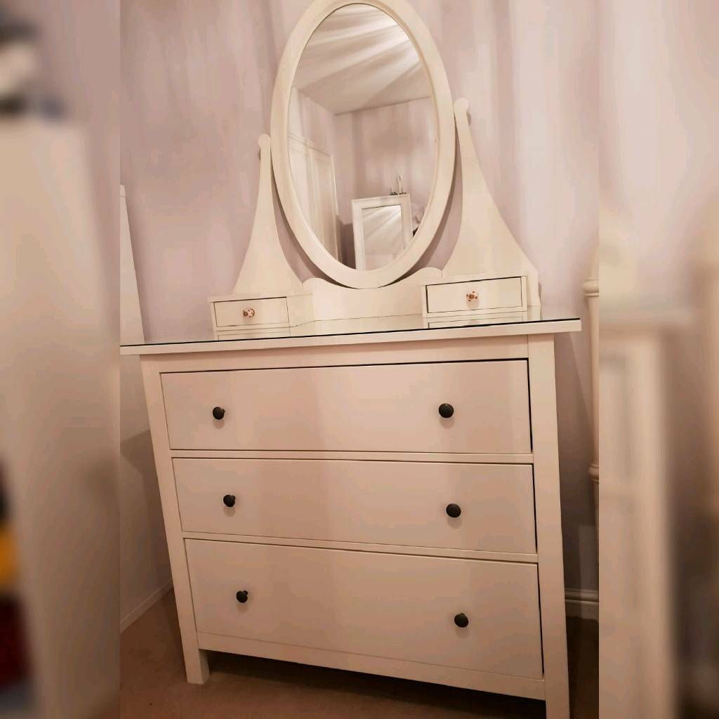 Ikea Hemnes Chest Of Drawers Dressing Table Mirror In Ingleby Barwick County Durham Gumtree