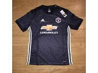 Manchester United Away Shirt Black M