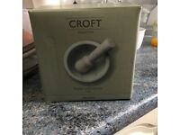Croft Collection Pestle and Mortar Marble New