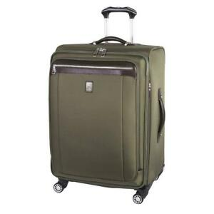 NEW Travelpro Magna 2 29-Inch Expandable Spinner, Olive, Checked - Large
