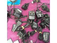 A HUGE COLLECTION OF USED MOBILE PHONES