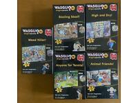 BNIB - WASGIJ 150 piece jigsaws - factory sealed