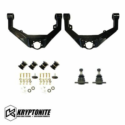 Kryptonite Upper Control Arm Kit For 2001-2010 Chevy GMC 2500HD 3500HD Truck