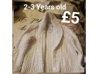 2-3 Year old cardigan