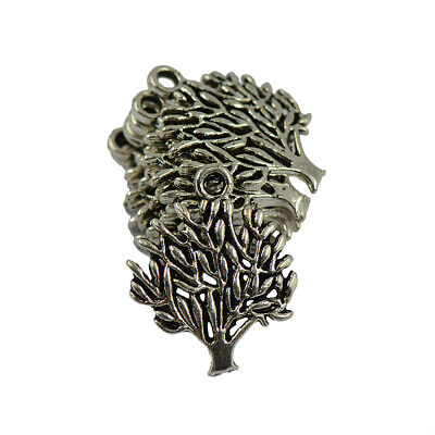 50x Baum des Lebens Charms Anhänger Halskette Schmucksache Antiquitäten (Antiquitäten Halskette)