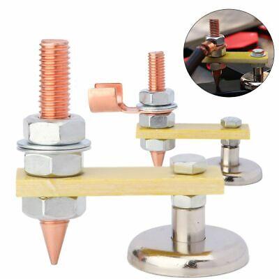 Welding Magnet Head Magnetic Welding Support Ground Clamp Holder Adjustable Us