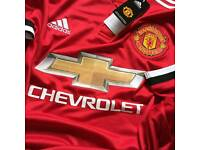 2017/18 Manchester United Home Shirt
