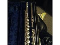 Germeinhardt solid silver flute open holes