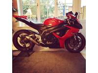 2008 Suzuki Gsxr 600, amazing condition, loads of extras, low mileage. Must see!!