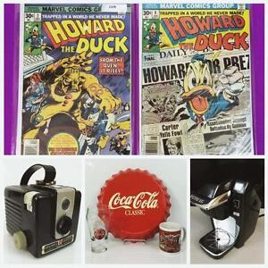 ONLINE AUCTION! Vintage Decor, Sports Cards, Banknotes, Homewares, Accessories AND MORE! Bids Start at $2! Ends Monday!