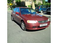 Honda Civic, 1 Year MOT, Very Low Mileage, Automatic, Cheap Insurance, Very Reliable.