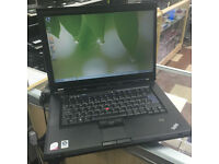"LENOVO T61 LAPTOP. 15.4"" SCREEN. WIFI. BLUETOOTH. DVD DRIVE. MS OFFICE"