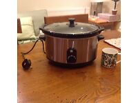 Lakeland slow cooker, used twice.