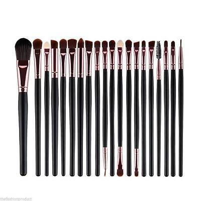 20pc Makeup BRUSHES Kit Powder Foundation Brush Cosmetics Brush Set Professional