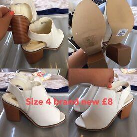 Ladies size 4 heels brand new