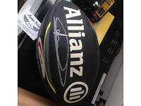 Signed saracens rugby ball signed