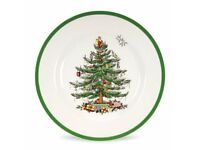 Wanted Spode Christmas Tree Crockery and cutlery to add to my dinner set to use for a family meal.
