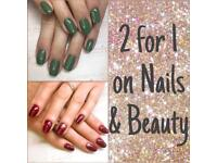 🍁 November Offer 🍁 2 for 1 on all Nails & Beauty 💅🏼💅🏼