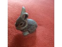 Poole pottery stoneware rabbit