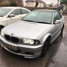 BMW 330ci petrol convertible mot till end july