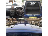 2008 Vauxhall Meriva 1.8 Petrol 16V Manual
