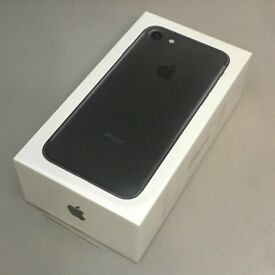 iPhone 7 Black 32GB Boxed and UNLOCKED