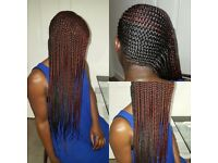 Neat and pretty braids