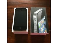 iPhone 4 8gb Vodaphone boxed with charger and new headphones.