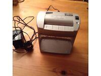 Single sheet document shredder from Ryman