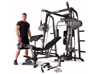 Marcy Diamond Elite Smith Machine with 140kg Olympic Weights