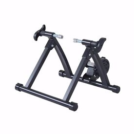 Homcom Magnetic Resistance Bike trainer *AS NEW* *USED ONCE* *WITH EXTRA FRONT WHEEL STAND*