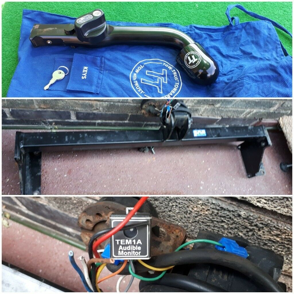Nissan Qashqai Detachable Tow Bar Part Missing In Hucknall Vauxhall Combo Wiring