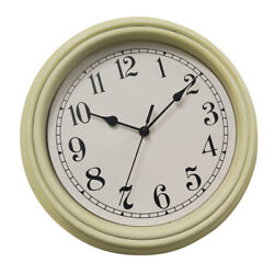 KITCHEN WALL CLOCK 30cm 12 QUARTZ MOVEMENT BIG WATCH- for Home Cafe