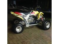 Suzuki ltr 450 quad bike