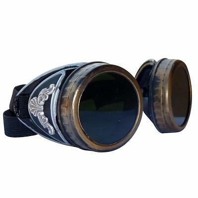 Steampunk GogGLes VicTORian Novelty Glasses cosplay Antique filigree S1 party - Novelty Goggles