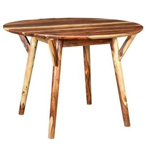 Sheesham Round Dining Table Sale-WO 7713 (BD-2608)