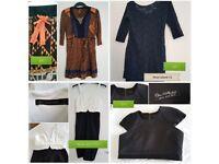 Bundle of 24 dresses, zara, river island, karen milen, monsoon, french connection, top shop