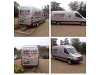 Man and van removals and deliveries