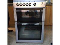 Silver freestanding cooker, Flavel Milano e60 ex condition