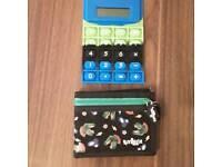 Smiggle flexible calculator+wallet