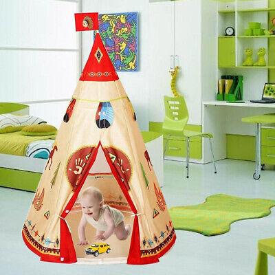 Carpa Plegable Tienda de Campaña Infantil en Forma de Castillo para Niños