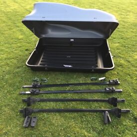 Roof box, used only twice