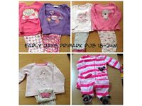 Baby girl bundle 12-18months amazing 102 items including Ralph Lauren Designer Shorts