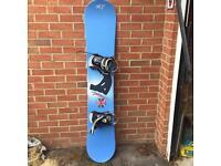Heli Snowboard with bindings