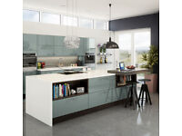 Magnet Astral Blue Kitchen Doors, Frontals and Panels. Brand New