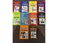 Diary of a Wimpy kid (Set of 10)