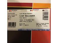 Liam Gallagher Nottingham 10th Dec 2017