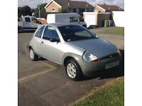 08 ford ka 1.3 long mot low miles 75000 low insurance services history£595